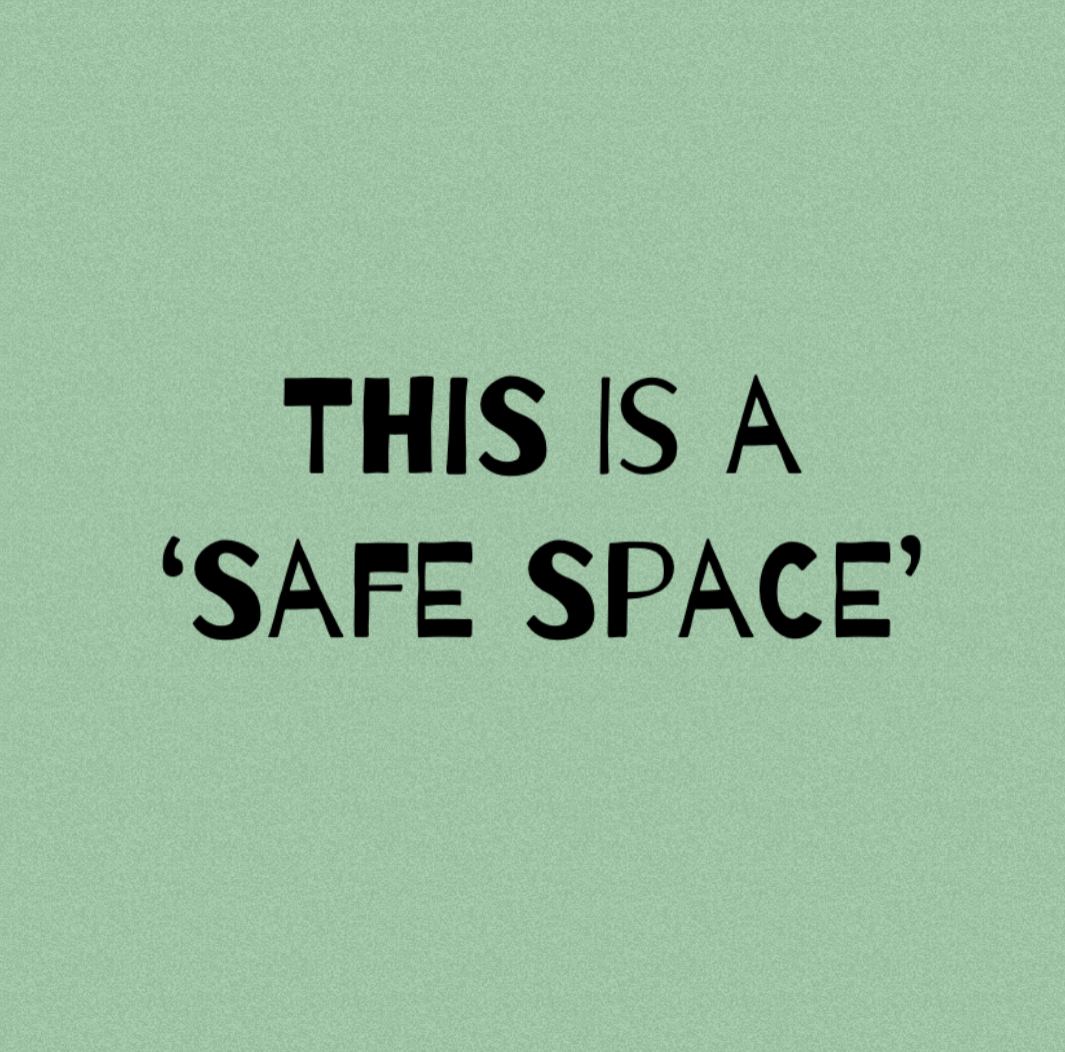 Welcome to 2021 & A 'Safe Space' for directors